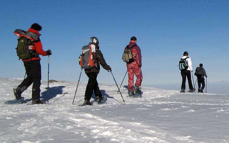 Snowshoeing in Vitosha and Rila Mountains 4 - Walking Bulgaria