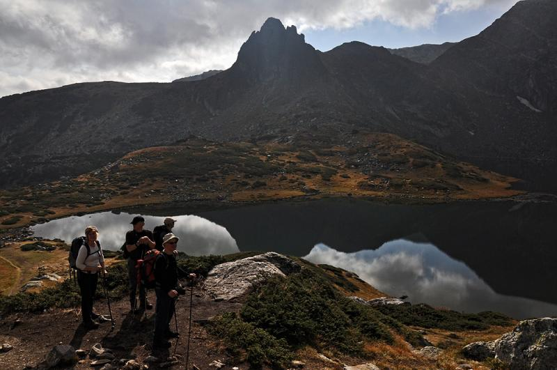 Self guided Trekking in the Rila Mountains 12 - Walking Bulgaria