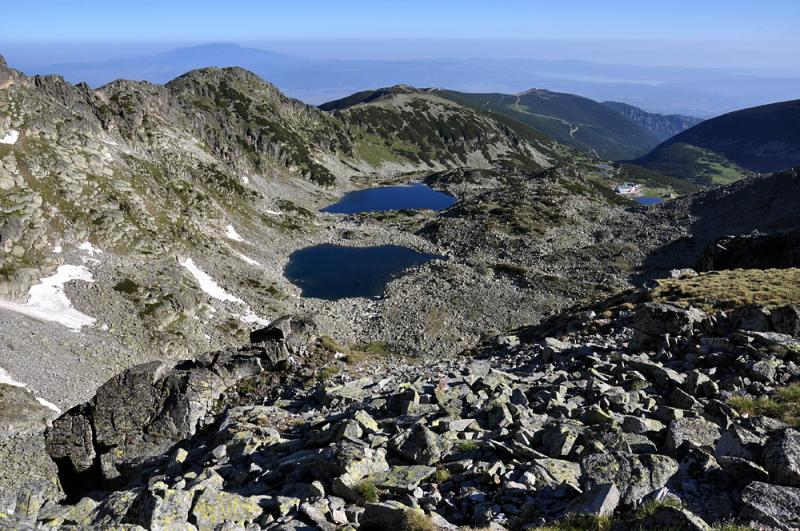 Three Summits, Three Mountains. Vitosha, Pirin and Rila Selfguided 14 - Walking Bulgaria