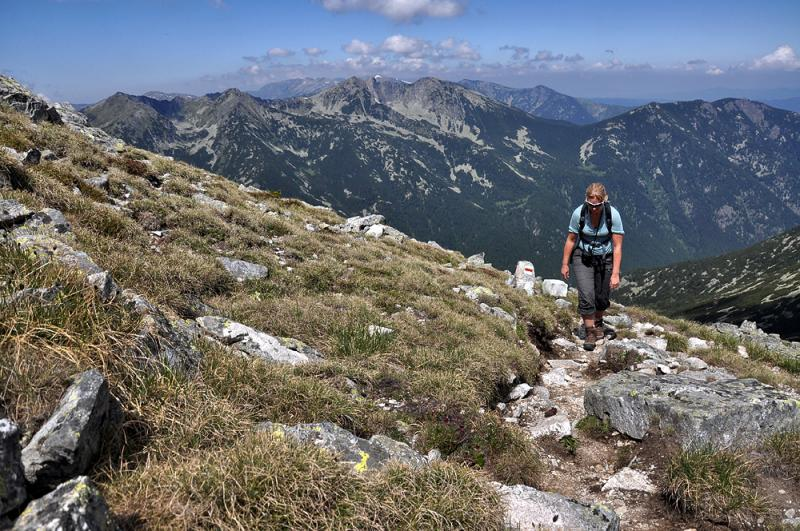 Three Summits, Three Mountains. Vitosha, Pirin and Rila Selfguided 16 - Walking Bulgaria